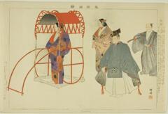 AIC-1939.2258.4.「能楽図絵」 「熊野」・・『』