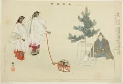 AIC-1939.2258.34.「能楽図絵」 「松風」・・『』