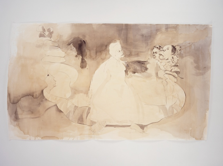 """Fairy Godmother Offers Some Unrequested Advice"" by Kara Walker, from the Art Institute of Chicago"