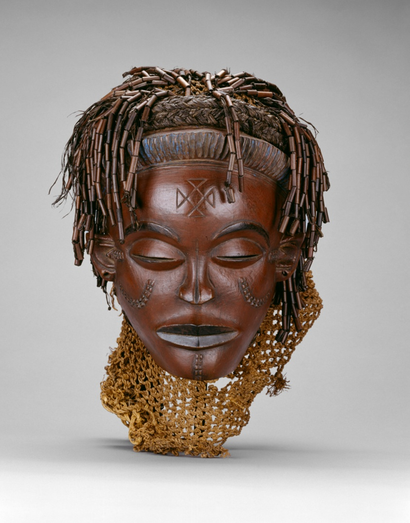 Female Face Mask Mwana Pwo The Art Institute Of Chicago