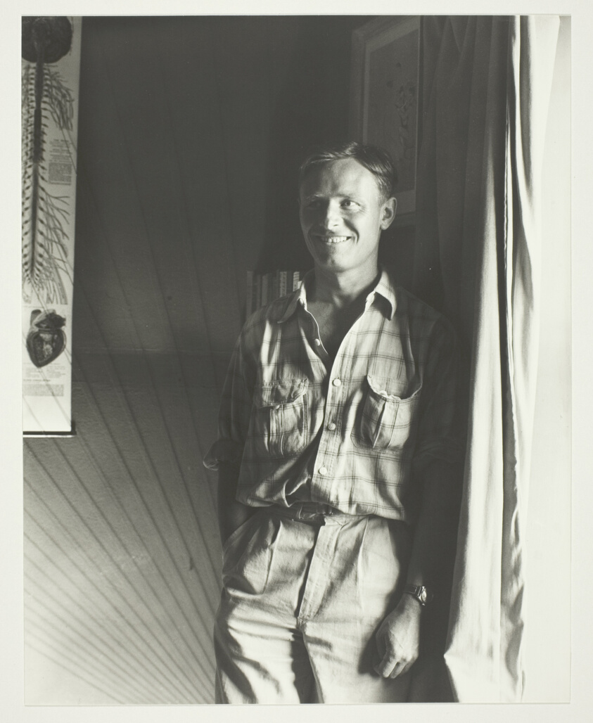 George Platt Lynes   Standing Man with White T-shirt and