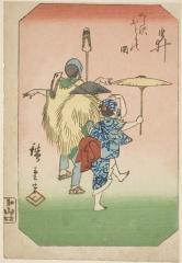 AIC-1928.365.「由井」 「くら沢おとりの図」・・『』