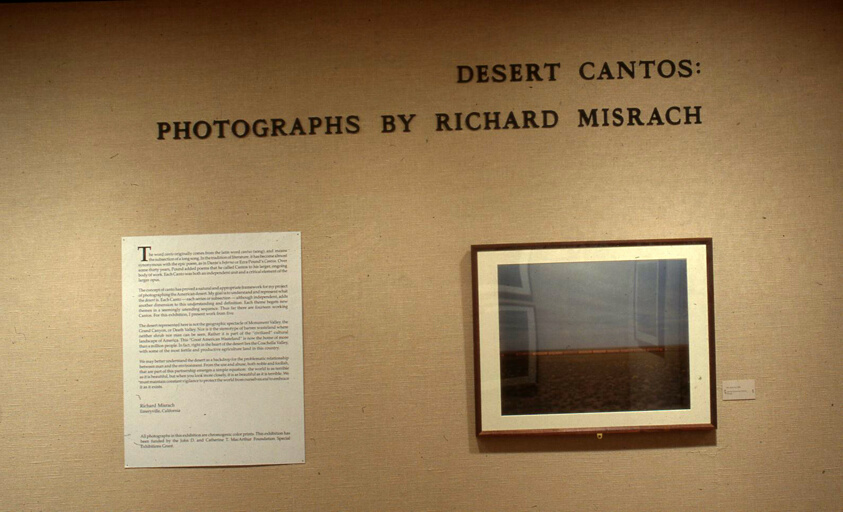 Desert Cantos: Photographs by Richard Misrach   The Art