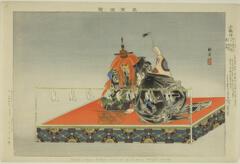 AIC-1939.2258.25.「能楽図絵」 「小鍛治」・・『』