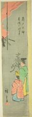 AIC-1939.1267.(「江戸名所張交図会」) 「亀戸天神 菜種之神事」・・『』