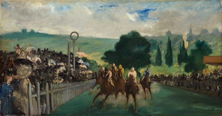 Картинки по запросу manet races at longchamp