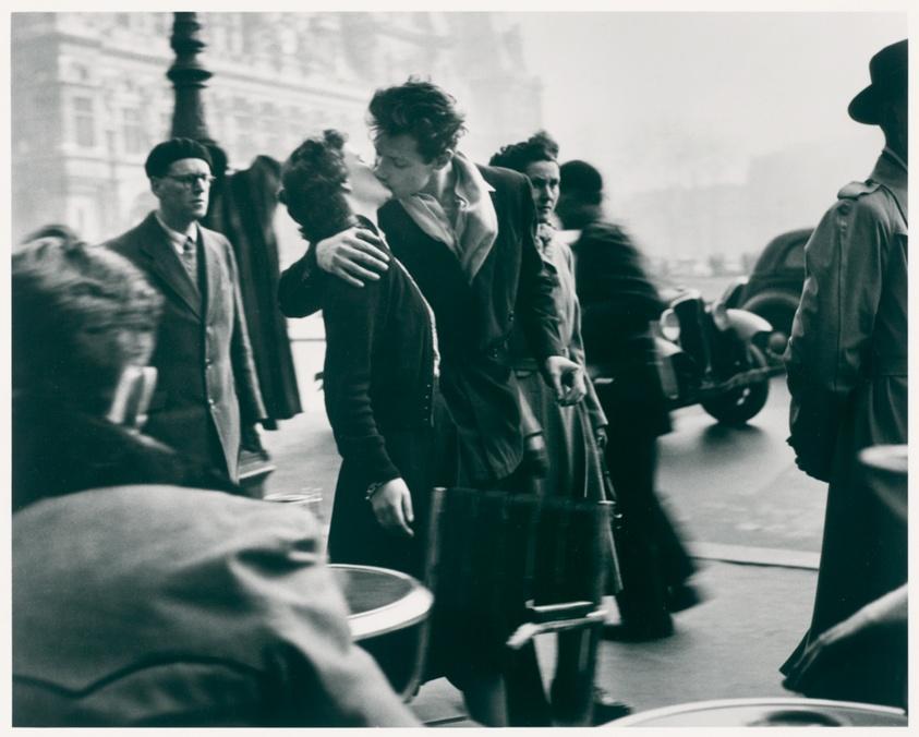 The Kiss On The Sidewalk Le Baiser Du Trottoir The Art Institute Of Chicago