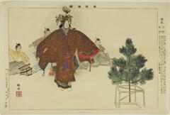 AIC-1939.2258.43.「能楽図絵」 「羽衣」・・『』