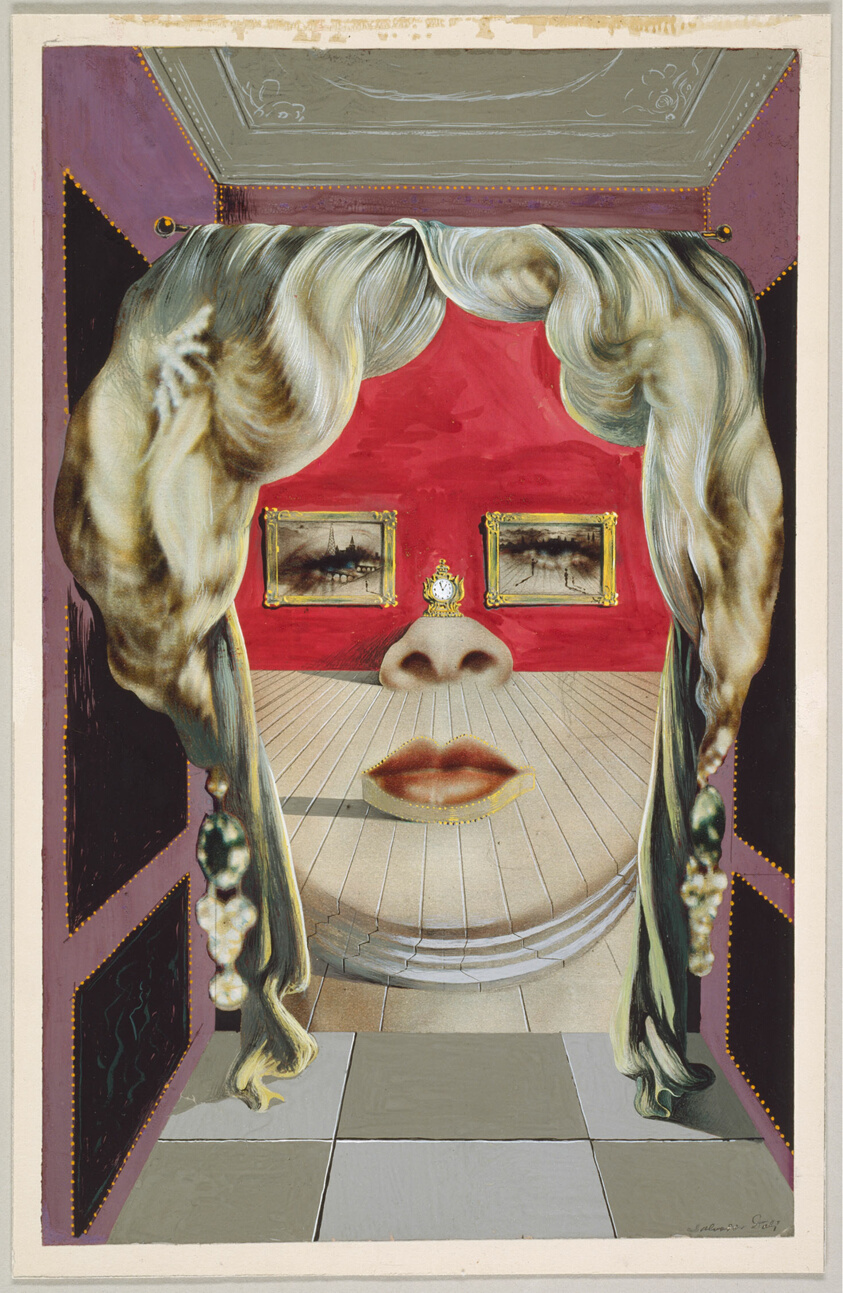 Mae West S Face Which May Be Used As A Surrealist Apartment The Art Insute Of Chicago